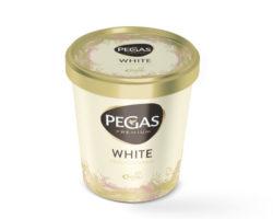523407 Pegas Premium White kelímek 8 x 460 ml