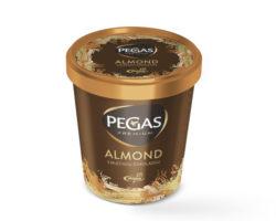 523412 Pegas Premium Almond kelímek 8 x 460 ml