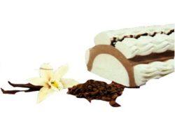 roláda vanilka čokoláda