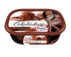 čokoládová s čoko toppingem